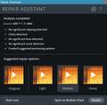 RX 7 ElementsでRepair Assistant 02