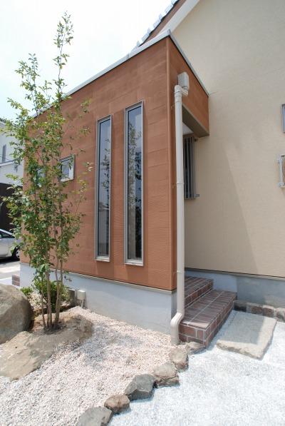 倉敷市・ペットと暮らす家の外観