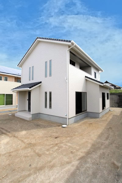 岡山県倉敷市の新築4LDKの家・外観