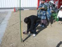里庄町での地鎮祭