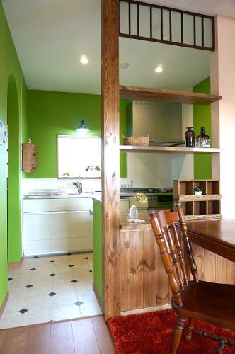 倉敷市の3LDKの可愛い家・キッチン