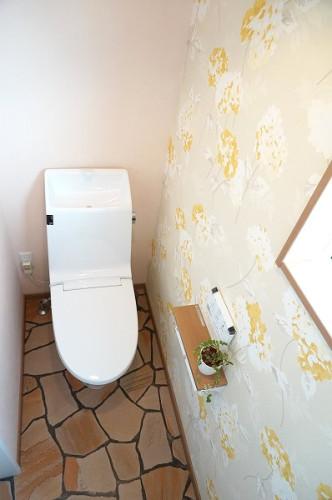 倉敷市の3LDKの可愛い家・トイレ