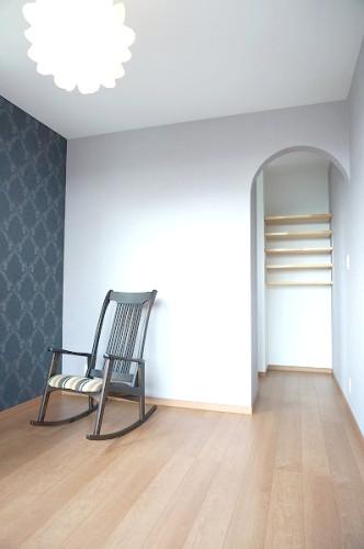 倉敷市の3LDKの可愛い家・寝室