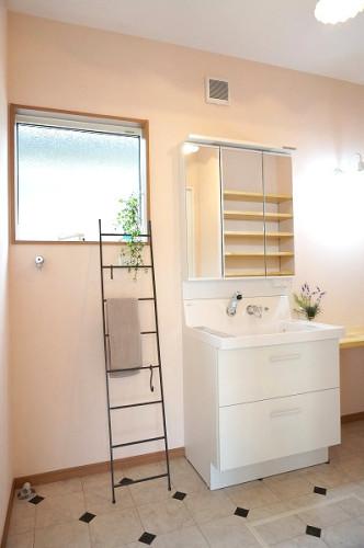 倉敷市の3LDKの可愛い家・洗面台