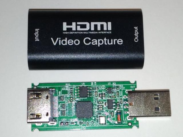 HDMIキャプチャUSBドングル