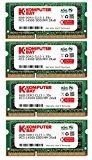 Komputerbay32ギガバイト(4x8GB)アップルメモリ後期2015 iMacの27のアップグレード」DDR31867Mhz PC3-14900 SODIMM2Rx8 CL13 1.35V RAM