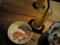 ラホツ:ココナツミルクのブラマンジェ、マンゴージュース