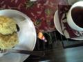 [ならまち]ロカシカカフェ:黒豆蒸しパン