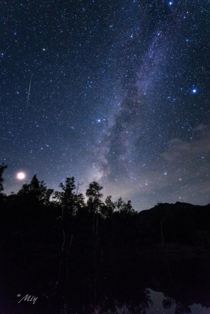 ペルセウス座流星群 2018.8.14 ...