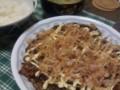[晩飯]豚玉 お好み焼き
