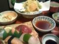 [晩飯]お寿司の懐石