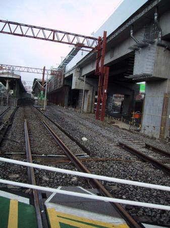石神井駅 線路ラスト
