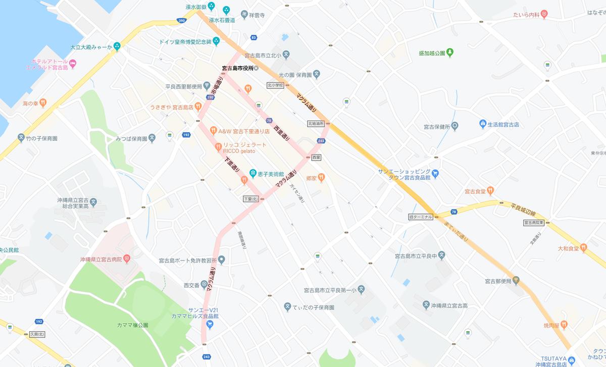 平良市街地ロードマップ