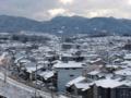 [白][鉄道][銀世界][雪][京都]