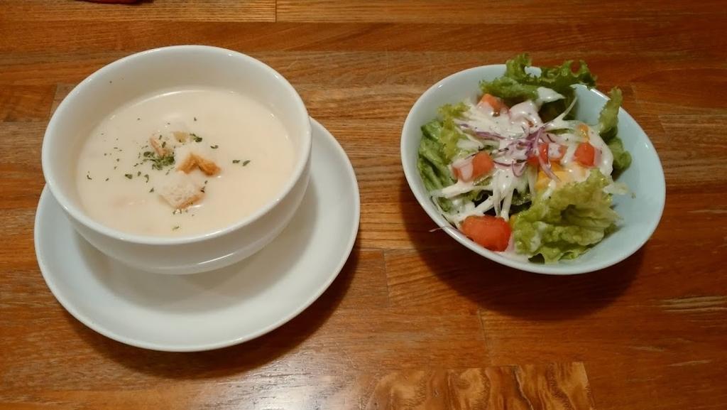 サラダ スープ