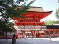 [京都][世界遺産]下鴨神社 楼門