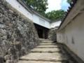 [城][世界遺産]姫路城 はの門へ