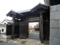 [旅][城]松山城 仕切り門