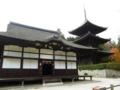 [滋賀]三井寺 唐院潅頂堂と三重塔