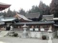 [滋賀][国宝]苗村神社 西本殿