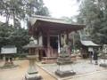 [滋賀][重文]苗村神社 東本殿