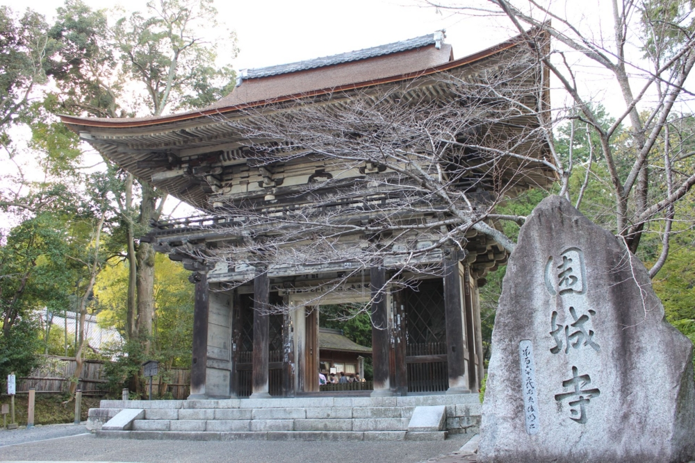 重要文化財 三井寺 仁王門