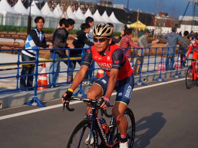 新城幸也(バーレーン・メリダ プロ・サイクリングチーム)