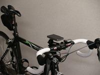 iPhone4を自転車にマウント