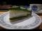 ティアベルデ@本日のケーキ。抹茶のケーキ