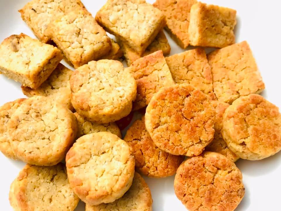 オーツ粕クッキー