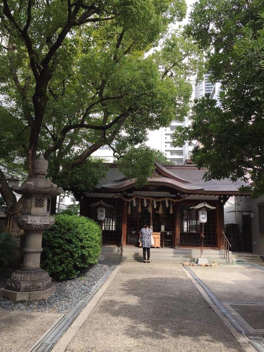 サムハラ神社本殿