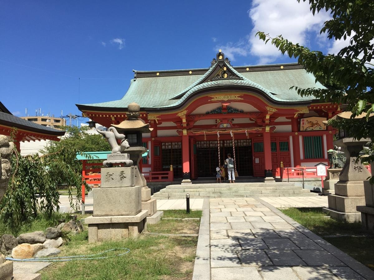 土佐稲荷神社 本殿