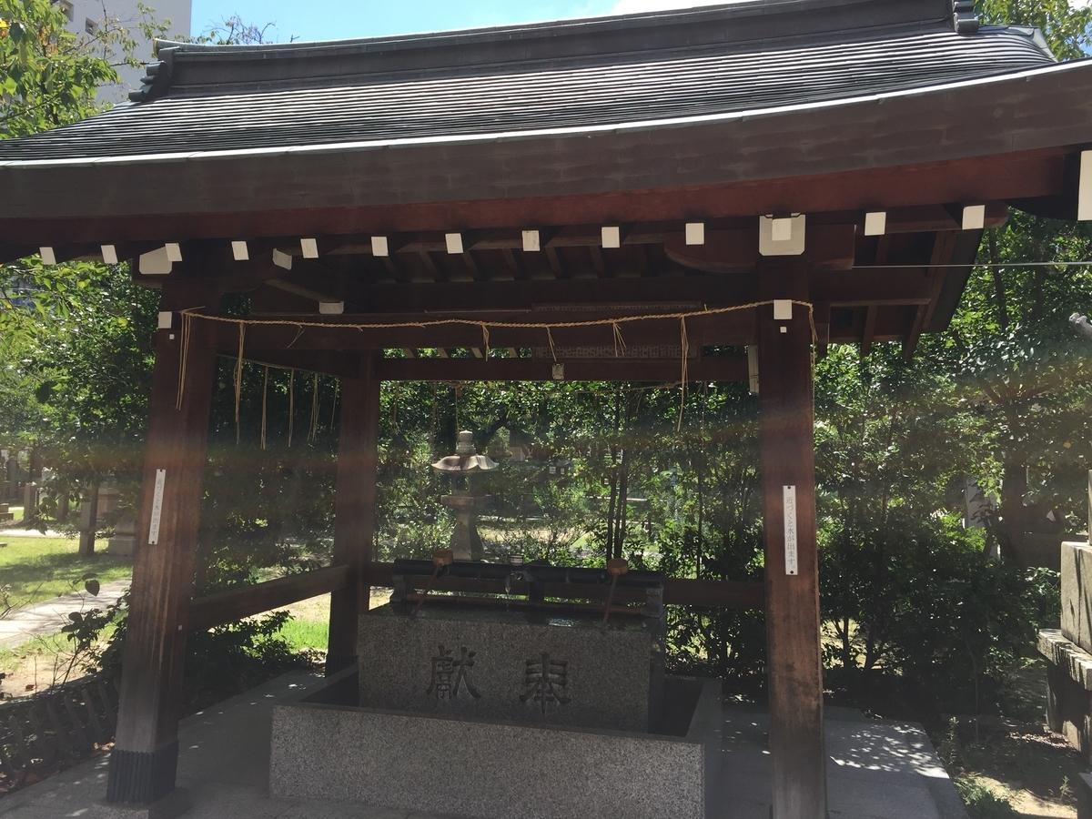 土佐稲荷神社 手水舎