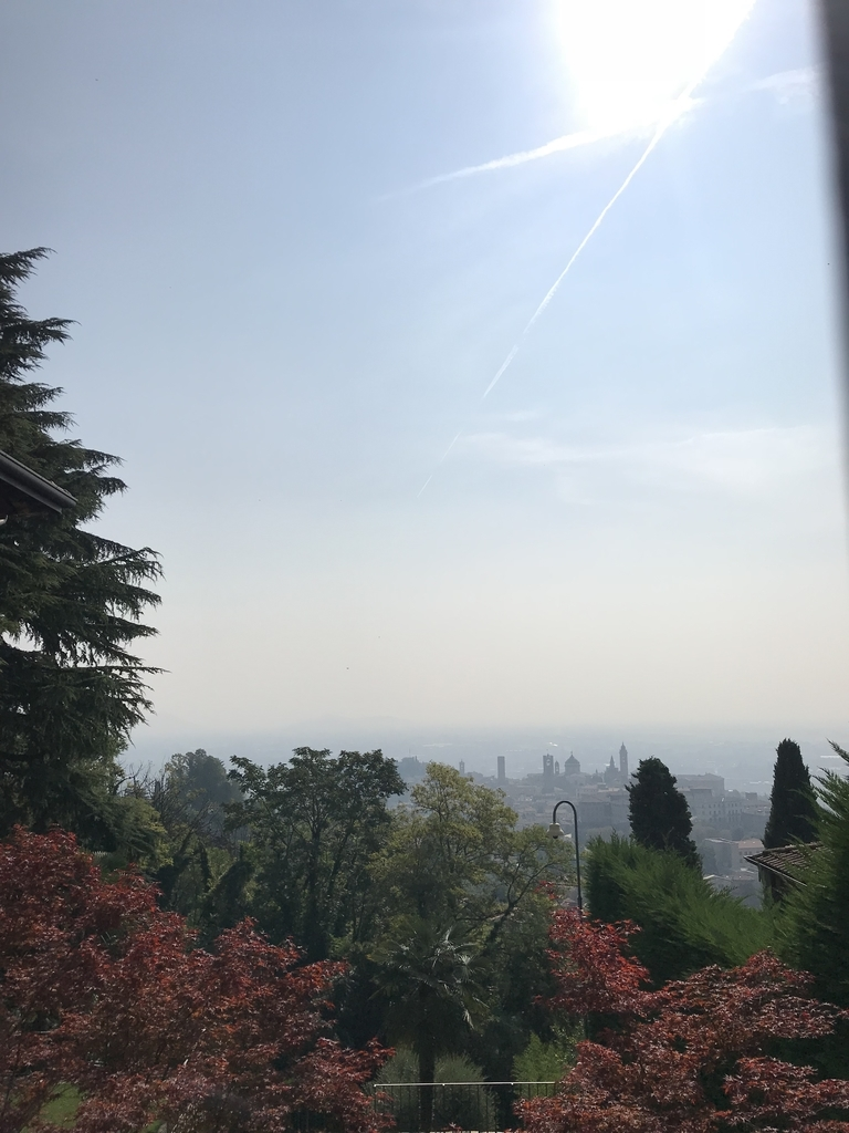 チッタアルタからの眺め