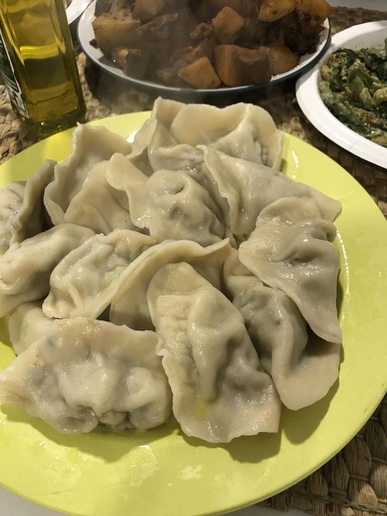 中国風手作り水餃子