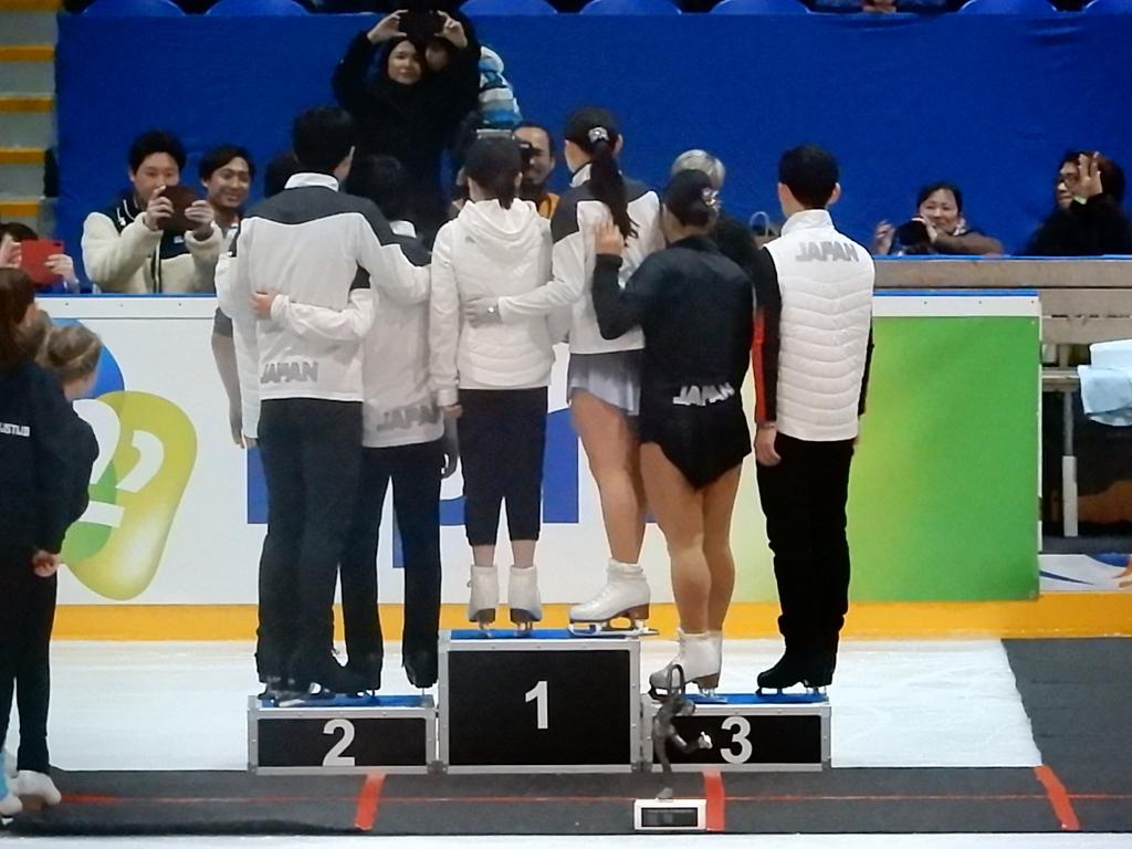 日本は国別で1位に表彰されました♬