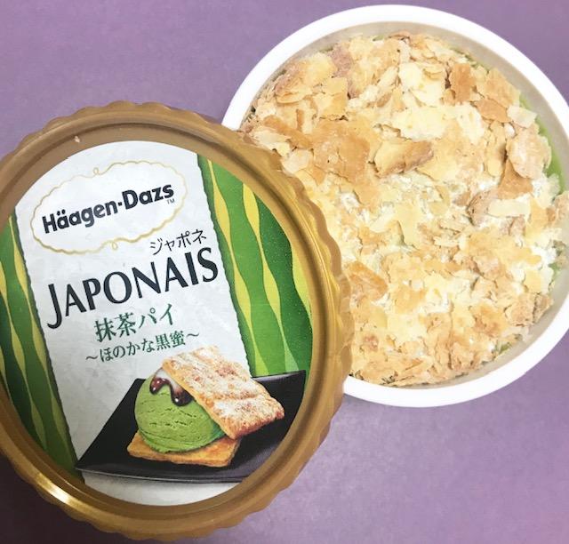 ハーゲンダッツジャポネ抹茶パイ実食