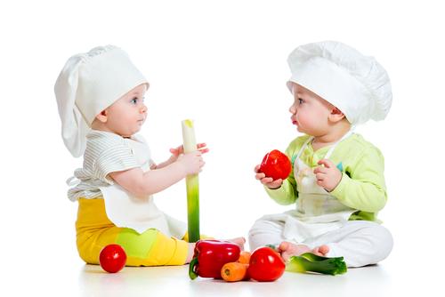ゴックン期 離乳食初期 少しずつ食事に慣れよう!!