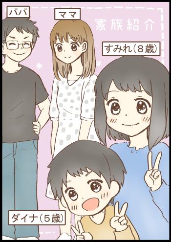 O型家族ゆるゆるマンガ