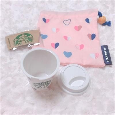 巾着とミニカップ
