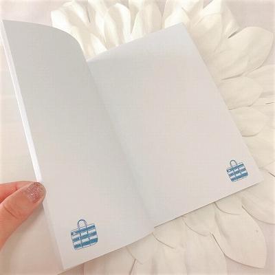ストライプ柄ノート