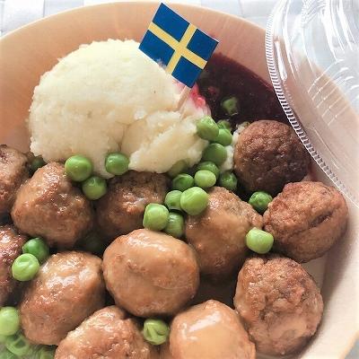 スウェーデンミートボール