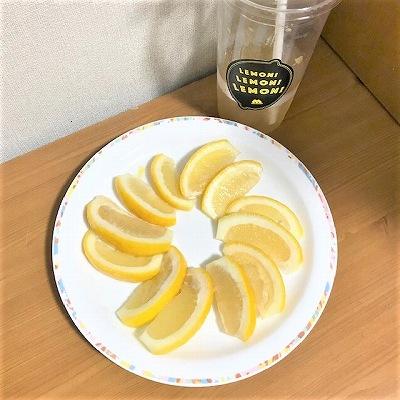 レモンの数
