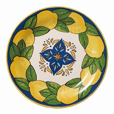 オリジナルレモン柄陶器皿