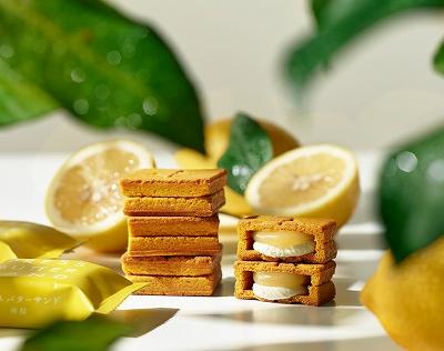 プレスバターサンド檸檬
