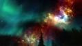 夜空はオーロラや銀河も美しい