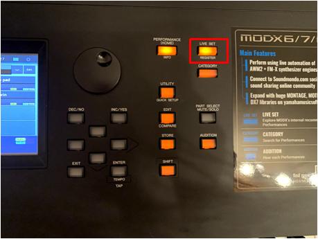 modx ライブセットボタン