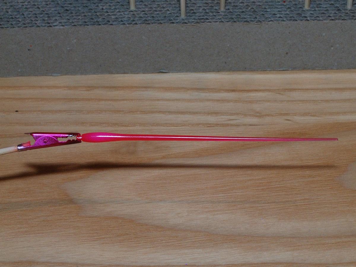 イングリッドゼロ専用ビームサーベルの塗装