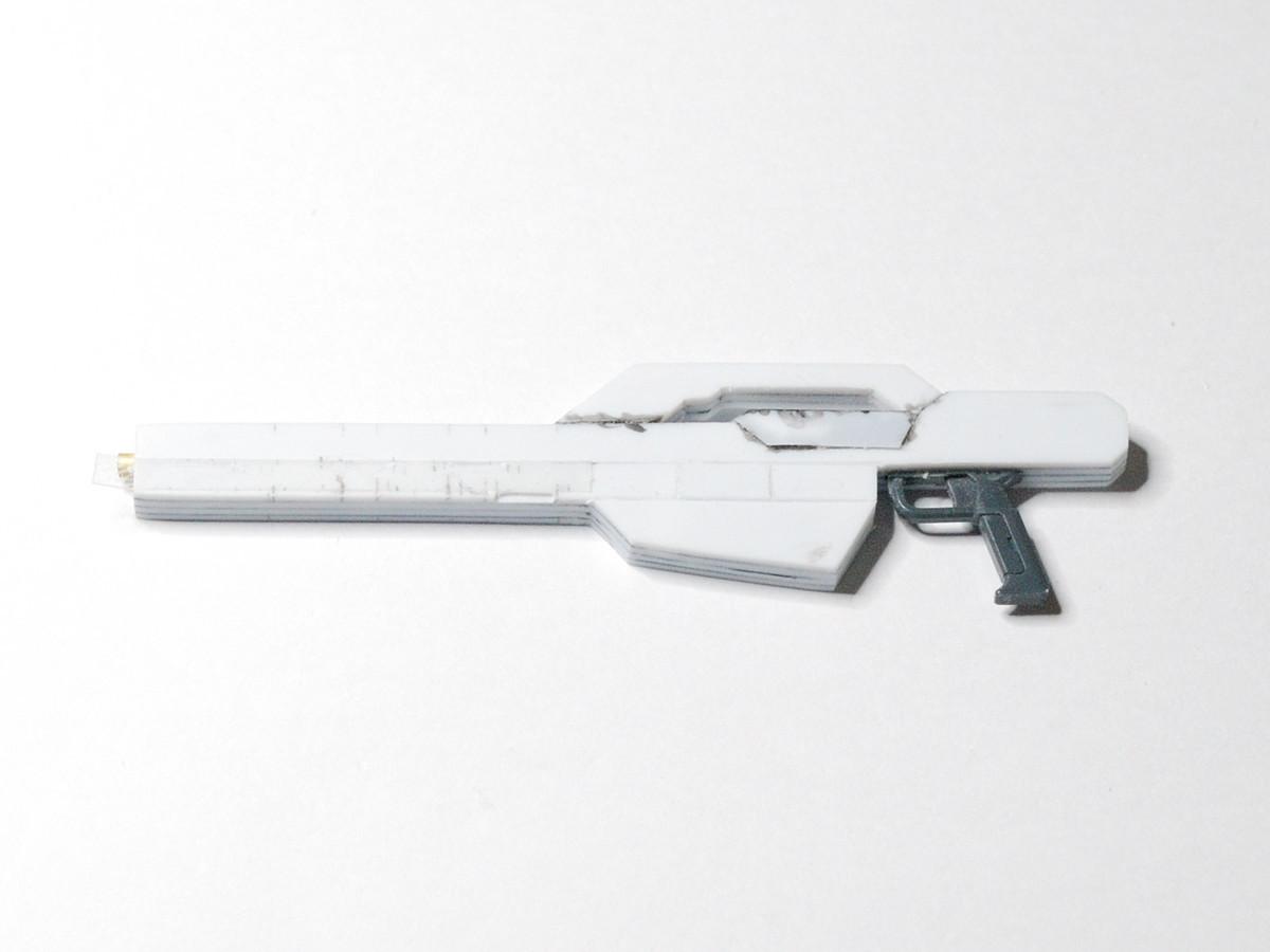 ヴァースキ専用 ジムナイトシーカー武器スクラッチ