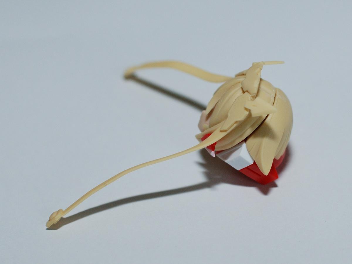 メガミデバイス牛若丸頭部組立